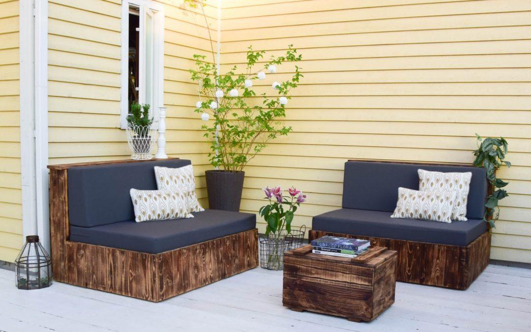 DIY Terrasse aus Euro-Paletten