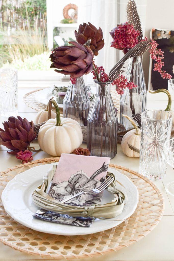 Mein Esszimmer Und Tischdeko Im Herbst Mrs Greenery