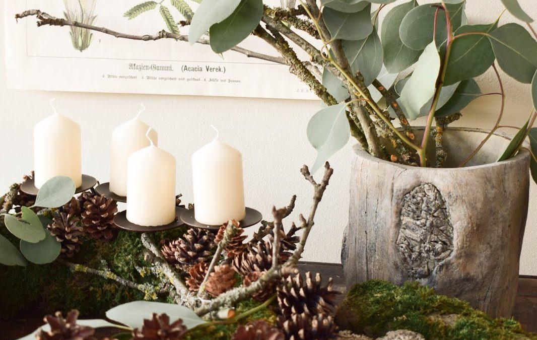 adventskranz eukalyptus