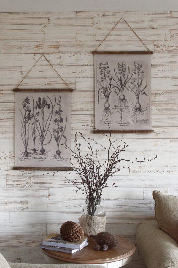 Wandbild Iris Hyachinthe Wanddeko botanischer Druck Bild Leinwand Dekoidee Wände Mrs Greenery