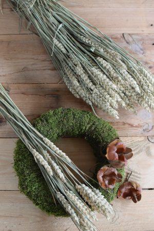 1 Bund getrockneter Weizen. Kreativsein mit Trockenblumen. Naturdeko Dekoidee von Mrs Greenery