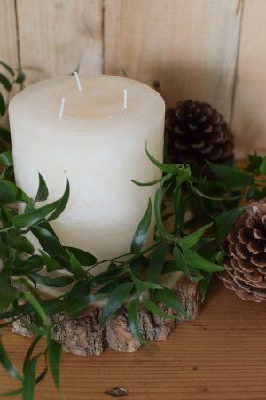 Mehrdochtkerze Kerzen für den Adventskranz. Set Winter Weihnachten Advent Kerze kaufen weiß