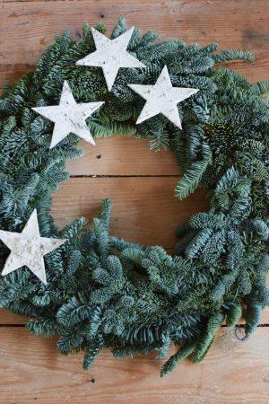 Nobilis Nobiliskranz Kranz Kränze fertig gebunden Deko Dekoidee Naturdeko Adventskranz Weihnachten