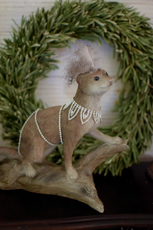 Otter Tiffany Deko Dekoidee dekorieren