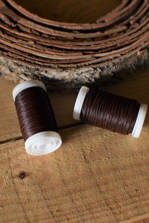 Myrtendraht silber. Kreativ mit Naturmaterialien gestalten. Draht Bindedraht