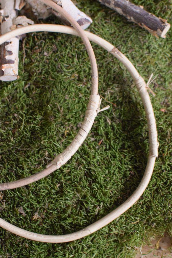 Loopring aus rattan Loop Kranz Naturdeko DIY selbermachen Rohling Kränze