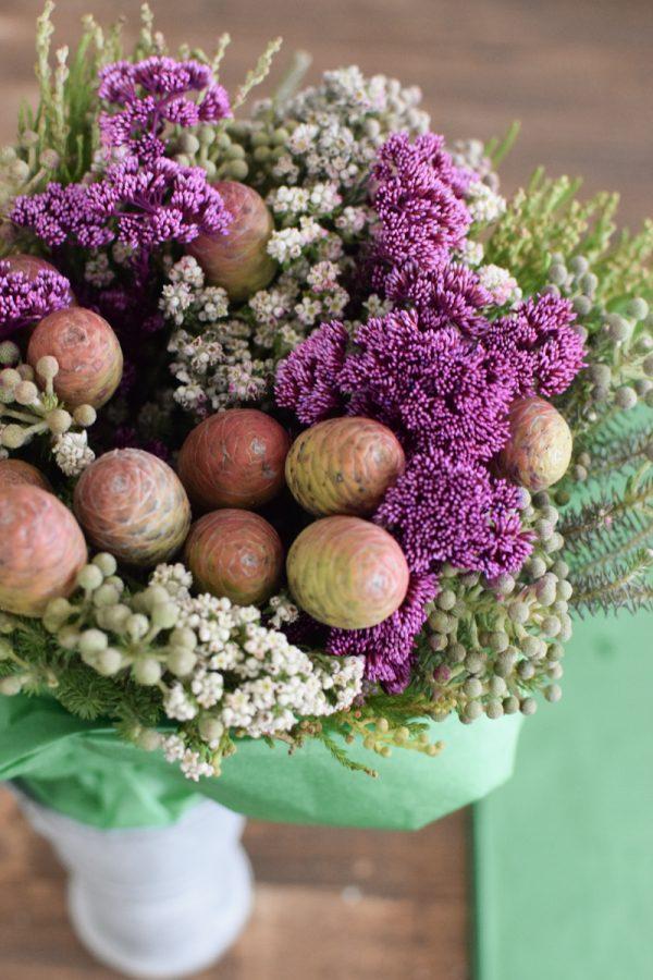 Bouquet Arrangement toller Strauß mit exotischen südafrikanischen Pflanzen