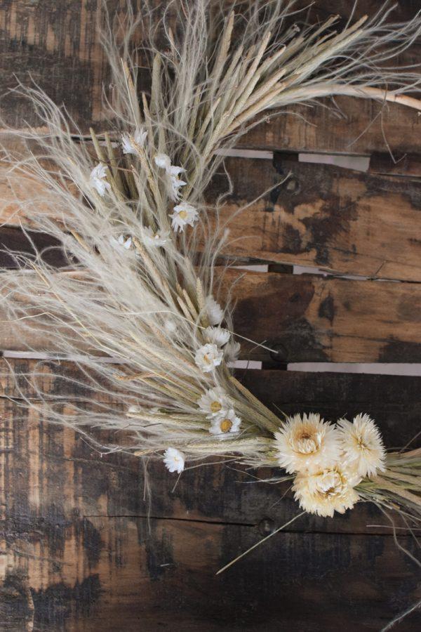 Loop Kranz binden mit Trockenblumen: Online Workshop inkl. Material Kränze selber machen aus getrockneten Blumen. Trockenblumenkranz, Kränze selbermachen Anleitung Loopkranz DIY Selberbinden selbermachen