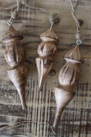 Holz Anhänger Tropfen Aufhänger Hänger Weihnachtsanhänger Holzdeko Advent Weihnachten natürliche Weihnachtsdeko im Mrs Greenery Shop bestellen