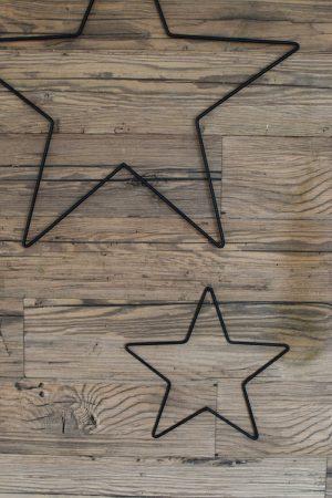 Metallsterne Weihnachtssterne Stern aus Metall zur Weihnachtsdeko Adventsdeko im Mrs Greenery Shop bestellen